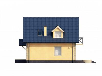 Z1 - Очаровательный и практичный дом с мансардой в традиционном стиле.