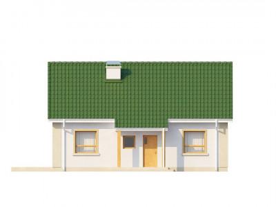 Z12 - Простой в реализации дом с двускатной крышей, с возможностью обустройства мансарды.