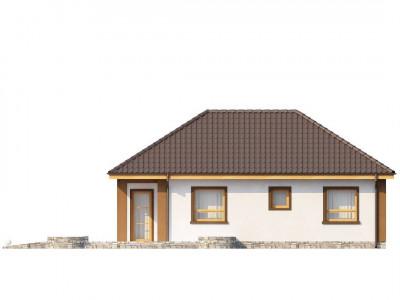 Z15 - Небольшой комфортный одноэтажный дом в форме буквы «L» с тремя спальнями.