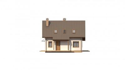 Z162 v3 - Один из вариантов проекта мансардного дома  Z162 V3