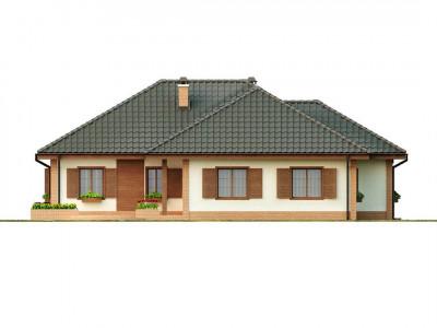 Z17 - Просторный комфортный одноэтажный дом с гаражом для двух машин.