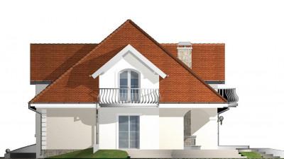 Z18 k - Версия проекта Z18 c кирпичной облицовкой фасадов.