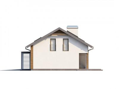 Z188 - Комфортный дом для одной семьи с гаражом на одну машину и кабинетом на первом этаже.