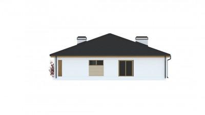 Z196 - Практичный одноэтажный дом с четырьмя спальнями и гаражом.