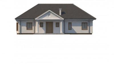 Z2 L + w - Зеркальный вариант увеличенного дома Z2