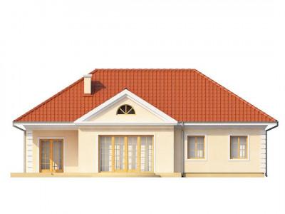 Z2 - Проект в стиле дворянской усадьбы с возможностью обустройства чердачного помещения.