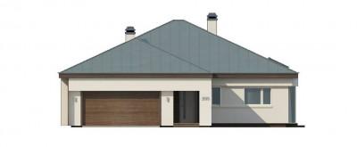 Z200 k - Вариант проекта Z200 с кирпичной облицовкой фасадов.