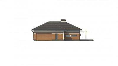 Z208 A - Классический вариант реализации фасадов на основе проекта Z208.