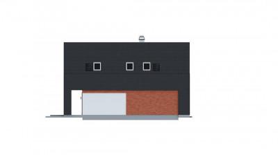 Z215 - Практичный и уютный дом с модернистскими элементами в архитектуре.