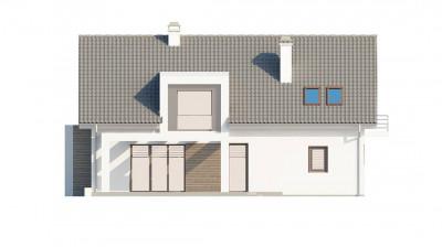 Z236 - Традиционный дом с современными архитектурными элементами. Практичный и уютный интерьер.
