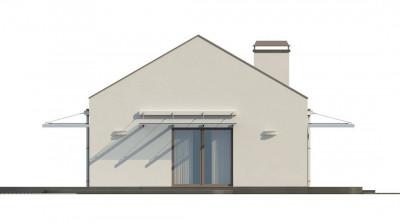 Z252 - Компактный одноэтажный дом современного дизайна со светлым интерьером.