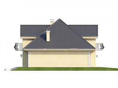 Z27 - Проект изысканного классического дома с мансардой.