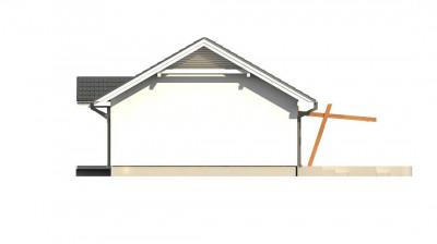 Z308 - Компактный одноэтажный до в традиционном стиле.
