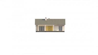 Z309 - Простой и элегантный одноэтажный дом.