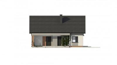 Z316 - Уютный дом с двускатной кровлей и  возможностью обустройства мансарды.