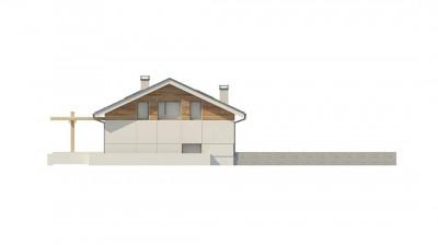 Z338 - Аккуратный дом с подвалом и тренажерным залом.
