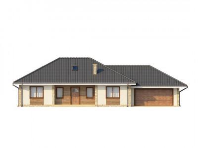 Z35 - Просторный одноэтажный дом с тремя спальнями и большим гаражом.