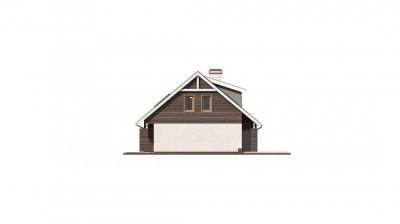 Z68 GL2 - Версия проекта Z68 с гаражом на два авто и дополнительными комнатами на мансарде.