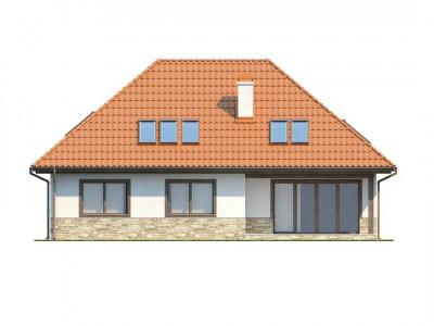 Z83 - Просторный комфортабельный дом с необычной планировкой второго этажа.