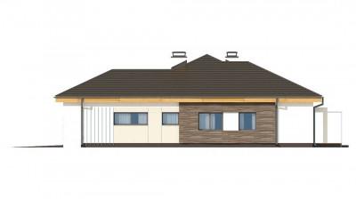Z96 tz - Вариант проекта Z96 с измененной формой крыши и с крытой террасой.