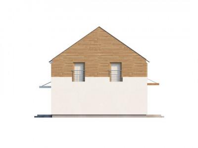 Zx11 - Энергоэффективный дом оригинального дизайна с просторной гостиной.