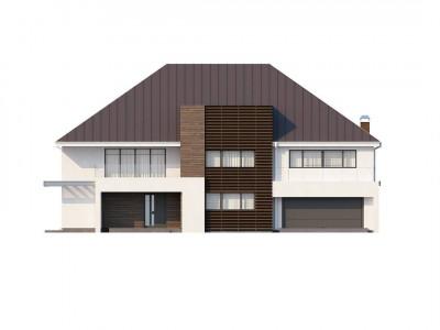 Zx20 - Роскошный современный особняк со вторым светом над гостиной.