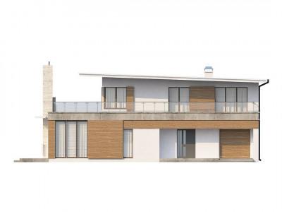 Zx21 - Просторный современный дом утонченного дизайна с богатым интерьером.