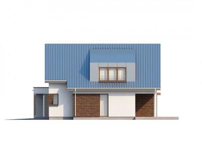 Zx23 - Компактный функциональный дом с оригинальными архитектурными элементами.
