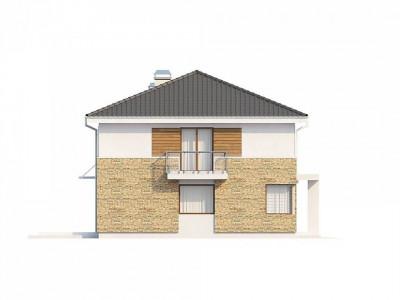Zx29 S - Двухэтажный современный дом под сейсмику