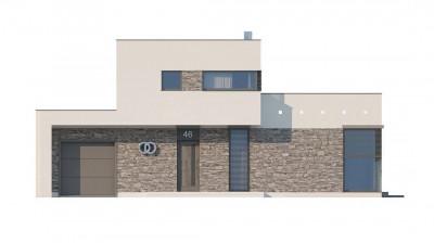 Zx46 - Koмфортабельный особняк в стиле модерн элегантного дизайна.