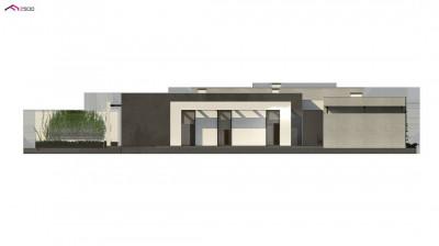 Zx79 - Проект комфортного одноэтажного дома с 4 спальнями
