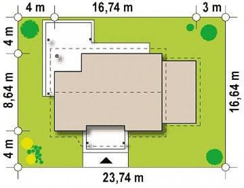 Z136 GP - Версия проекта Z136 с гаражом.