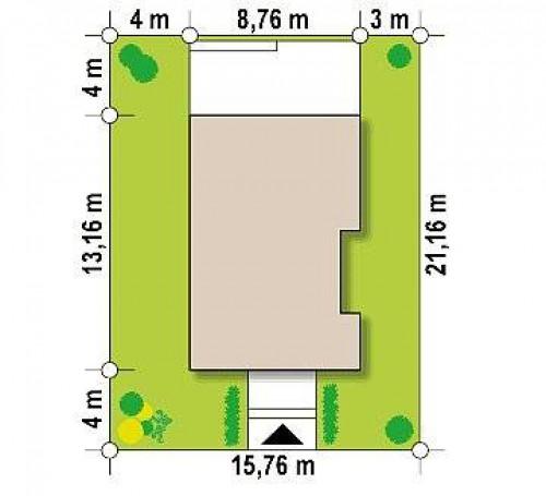 Z329 - Компактный одноэтажный дом, подходящий и для постоянного проживания, и для сезонного
