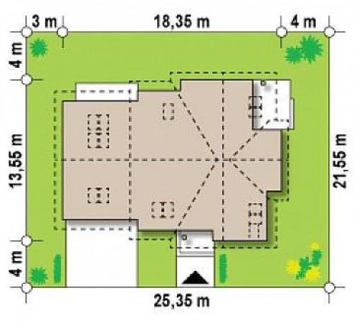 Z70 - Просторный комфортабельный дом с дополнительной гостиной на втором этаже.