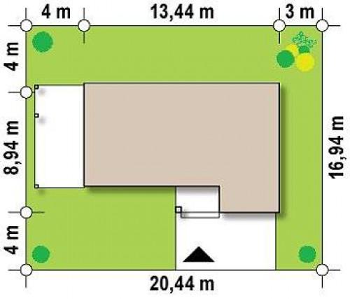 Zx63 A - Вариант проекта Zx63 с измененной планировкой помещений.