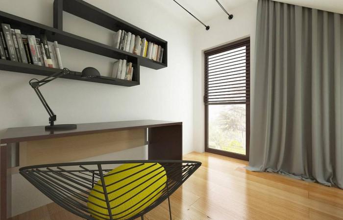 Z101 D GL - Мансардный домик с гаражом и тремя спальнями