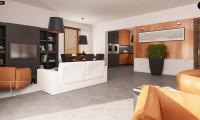 Z114 - Проект практичного дома с эркером и гаражом на одну машину.