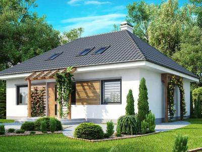 Z121 - Удобный и красивый дом традиционного характера с двумя дополнительными спальнями на первом этаже.