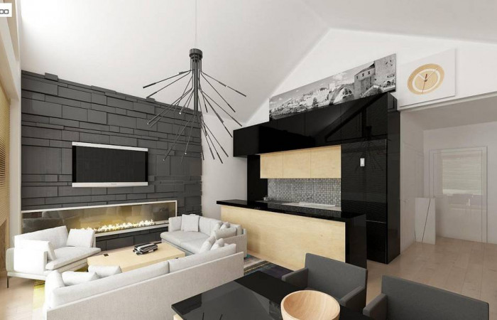 Z151 - Функциональный компактный дом интересного дизайна.