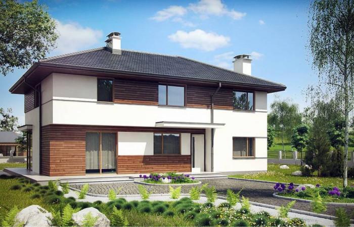 Z159 - Просторный двухэтажный дом с двумя дополнительными спальнями на первом этаже.