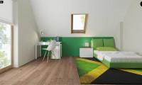 Z163 - Небольшой стильный и практичный дом с мансардными окнами.
