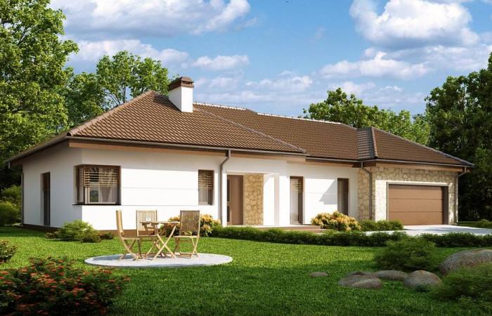 Z167 - Функциональный удобный дом с гаражом на два автомобиля и большим хозяйственным помещением.