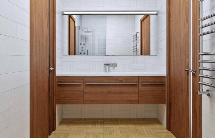 Z16 dk - Аккуратный одноэтажный дом с деревянной облицовкой фасадов, адаптированный для каркасной технологии.