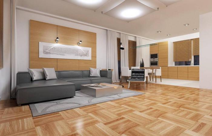 Z191 - Компактный одноэтажный дом простой формы с возможностью обустройства чердачного помещения.