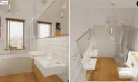 Z19 - Одноэтажный удобный дом с фронтальным гаражом, с возможностью обустройства мансарды.