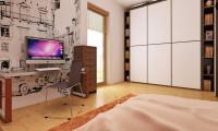 Z1 bl - Версия проекта дома Z1 без люкарен.