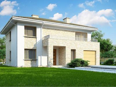 Zx4 A - Дом с полноценным вторым этажом , четырьмя спальнями , гаражом и кабинетом на первом этаже