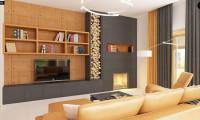 Zx12 k - Проект комфортного двухэтажного дома с гаражом. Фасады в кирпичной облицовке.