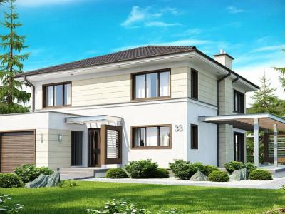 Zx33 - Комфортный двухэтажный дом со вторым светом над гостиной.