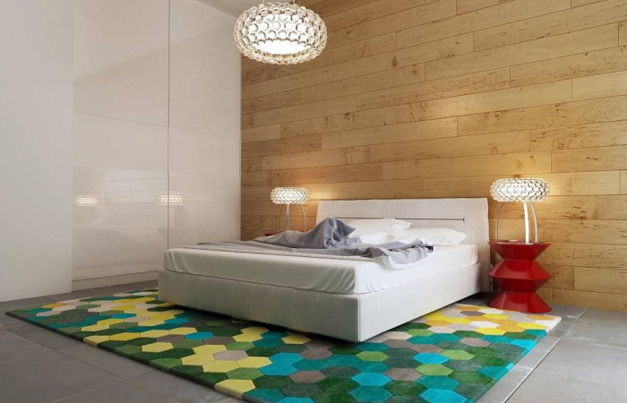 Zx34 - Одноэтажный практичный дом с плоской крышей современного дизайна.